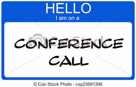conferene call name tag